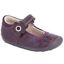 Buy Clarks Little Candy Shoes, Purple Online at johnlewis.com