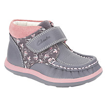 Buy Clarks Alana Erin Boots, Anthracite Online at johnlewis.com