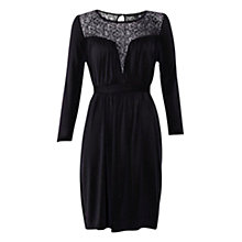 Buy French Connection Meadow Lace Jersey Dress Online at johnlewis.com