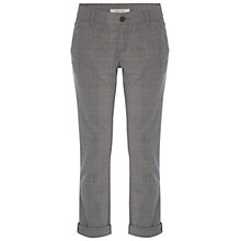 Buy White Stuff Day Tripper Checked Trousers, Brown Online at johnlewis.com