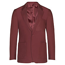 Buy John Lewis Boys' School Eco Blazer, Maroon Online at johnlewis.com
