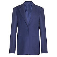 Buy John Lewis Girls' School Eco Blazer, Royal Blue Online at johnlewis.com