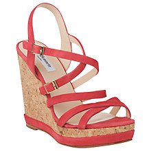 Buy L.K. Bennett Nahoon Strappy Cork Wedge Sandals Online at johnlewis.com