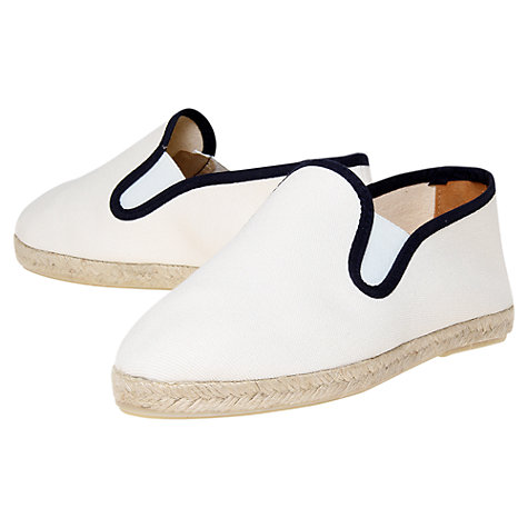 Buy Kurt Geiger Pemberley Canvas Espadrilles Online at johnlewis.com