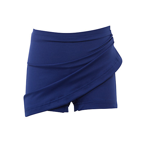 Buy Girls' School Skort, Royal Blue Online at johnlewis.com