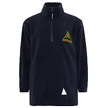 Buy Sherrardswood School Unisex Fleece, Navy Online at johnlewis.com