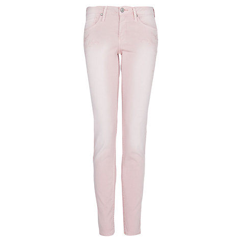 Buy Mango Embroidered Slim Jeans Online at johnlewis.com