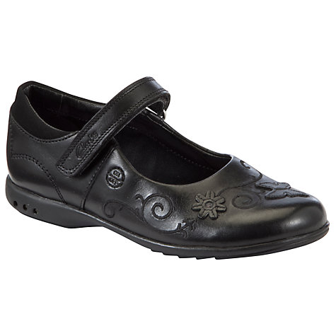 Buy Clarks Breena Love Shoes, Black Online at johnlewis.com