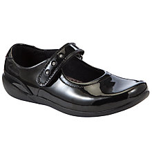 Buy Clarks Genius Art Shoes, Black Patent Online at johnlewis.com