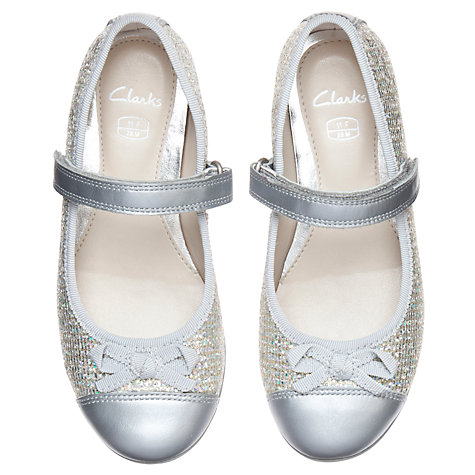 Buy Clarks Dance Spark Rip Tape Strap Shoes Online at johnlewis.com