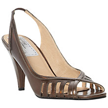 Buy Bertie Darcilla Patent Peep Toe Slingback Sandals Online at johnlewis.com