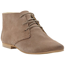 Buy Bertie Ladie Suede Desert Boots Online at johnlewis.com