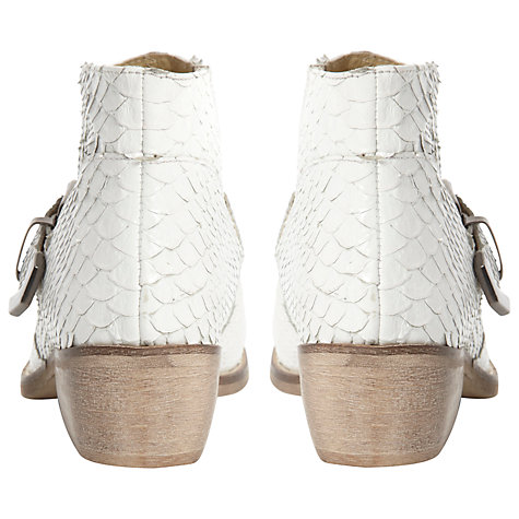 Buy Bertie Pendy Leather Studded Ankle Boots Online at johnlewis.com