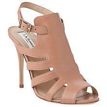 Buy L.K. Bennett Capri Leather Stiletto Heel Gladiator Sandals Online at johnlewis.com