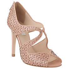 Buy L.K. Bennett Malibu Leather Cut-Out Detail Sandals Online at johnlewis.com