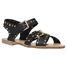 Buy KG by Kurt Geiger Marcella Summer Sandals, Black Online at johnlewis.com