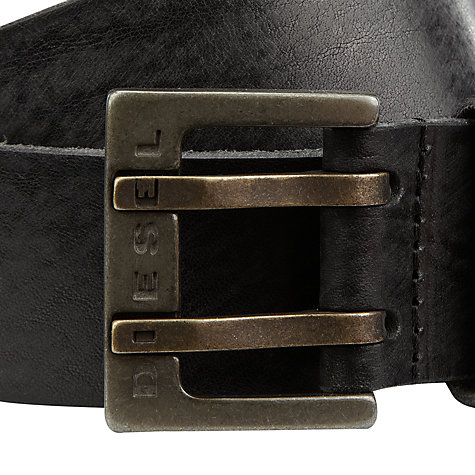 Buy Diesel Bitwo Leather Belt Online at johnlewis.com