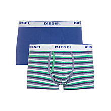 Buy Diesel Stripe Trunks, Pack of 2 Online at johnlewis.com