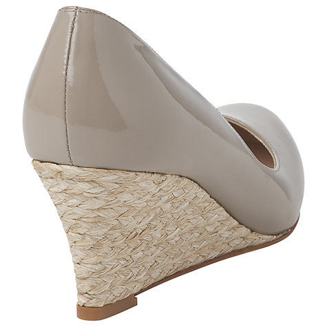 Buy L.K. Bennett Patent Leather Wedge Court Shoe Online at johnlewis.com