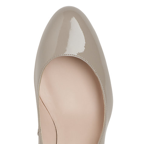 Buy L.K. Bennett Zella Patent Leather Wedge Court Shoes Online at johnlewis.com