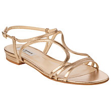 Buy L.K. Bennett Lennie Leather Studded Sandals Online at johnlewis.com