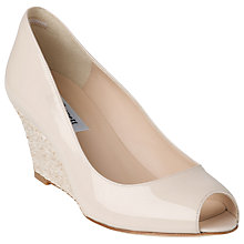 Buy L.K. Bennett Zelita Patent Peep Toe Wedges Online at johnlewis.com