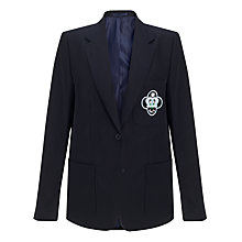Buy St Mary's Catholic School Girls' Blazer, Navy Online at johnlewis.com