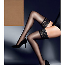 Buy John Lewis 15 Denier Gloss Hold Ups Online at johnlewis.com