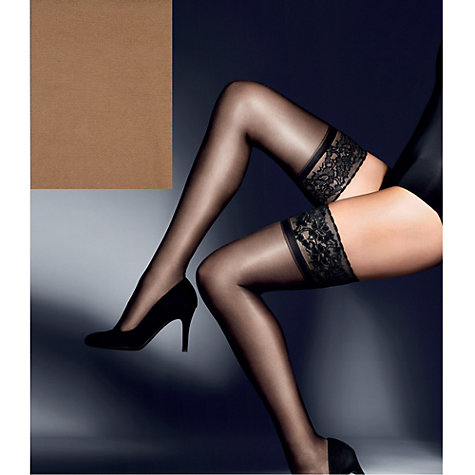 Buy John Lewis 15 Denier Gloss Hold-Ups Online at johnlewis.com