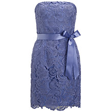 Buy Adrianna Papell Strapless Lace Dress, Freesia Online at johnlewis.com