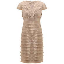Buy Adrianna Papell Shimmer Shutter Dress Online at johnlewis.com