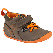 Buy Clarks Cruiser Crew Shoes, Brown Online at johnlewis.com