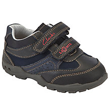Buy Clarks Flash Time Shoes, Navy Online at johnlewis.com