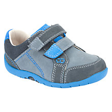 Buy Clarks Softly To Shoes, Blue Online at johnlewis.com