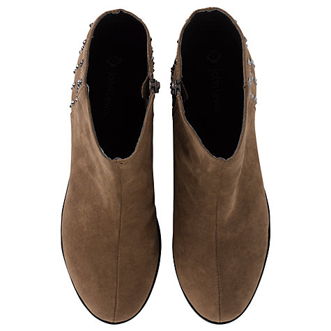 Buy John Lewis Girl Joley Pixie Boots, Brown Online at johnlewis.com