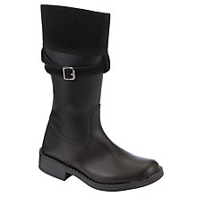 Buy John Lewis Girl Tara Riding Boots, Black Online at johnlewis.com
