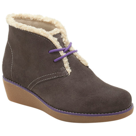 Buy Clarks Mellie Rose Boots, Grey Online at johnlewis.com