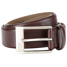 Buy BOSS Ellot Leather Belt Online at johnlewis.com