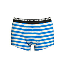 Buy Hugo Boss Inno Stripe Trunks Online at johnlewis.com
