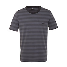 Buy Hugo Boss Inno Stripe Lounge T-Shirt Online at johnlewis.com
