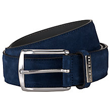 Buy Hugo Boss Stefonio Suede Belt Online at johnlewis.com