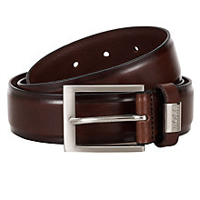 Buy Hugo Boss Suello Leather Belt Online at johnlewis.com