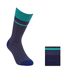 Buy Hugo Boss Stripe Socks, Pack of 2 Online at johnlewis.com