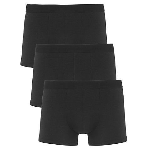 Buy John Lewis Bamboo and Cotton Hipster Trunks, Pack of 3 Online at johnlewis.com