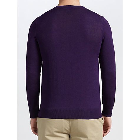 Buy John Lewis Made in Italy Merino Crew Neck Jumper Online at johnlewis.com