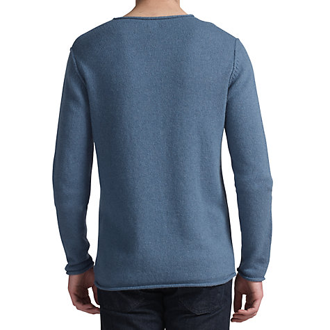 Buy Kin by John Lewis Roll Edge Angora Cashmere Crew Neck Jumper Online at johnlewis.com