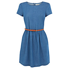 Buy Oasis Hayley Denim Dress, Chambray Online at johnlewis.com