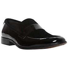 Buy Dune Avenger Suede and Patent Slip On Shoes Online at johnlewis.com