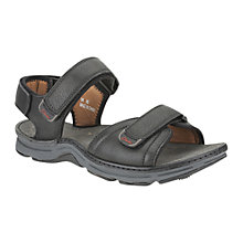 Buy Clarks Atl Part Leather Sandals Online at johnlewis.com