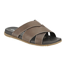 Buy Clarks Worthy Sun Leather Sandals Online at johnlewis.com